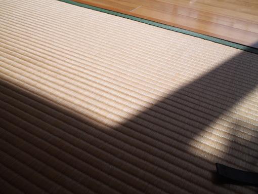 畳と日差し