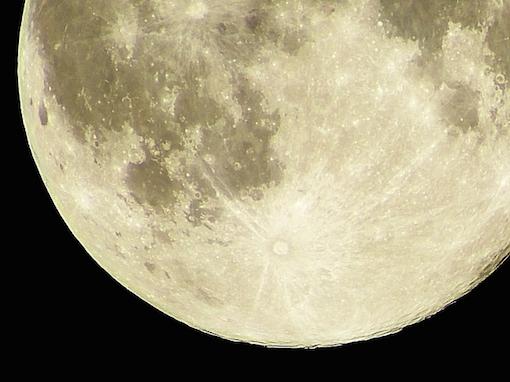 大きな満月